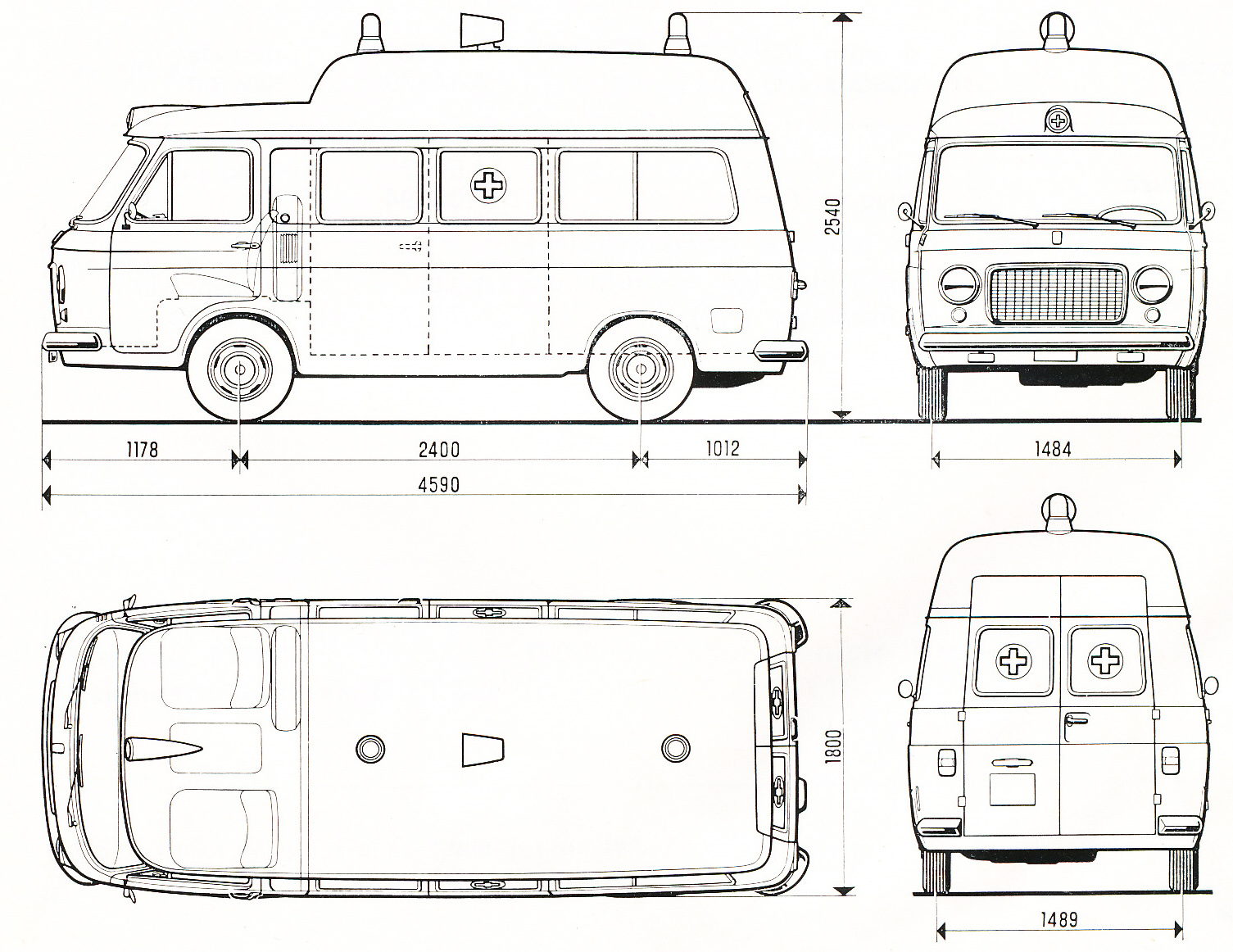 Big Meat Ball 1970 Fiat 238