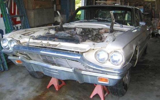 It Won't Start: 1965 Thunderbird