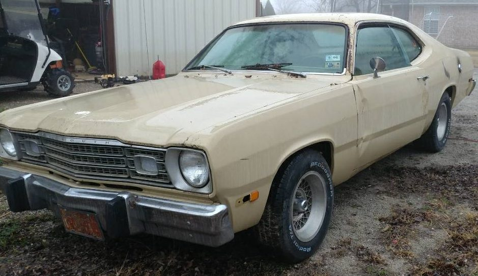 Rusted And Dusted 1974 Plymouth Duster