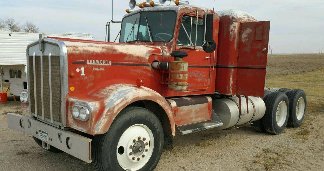 45 Years One Owner 1970 Kenworth W925