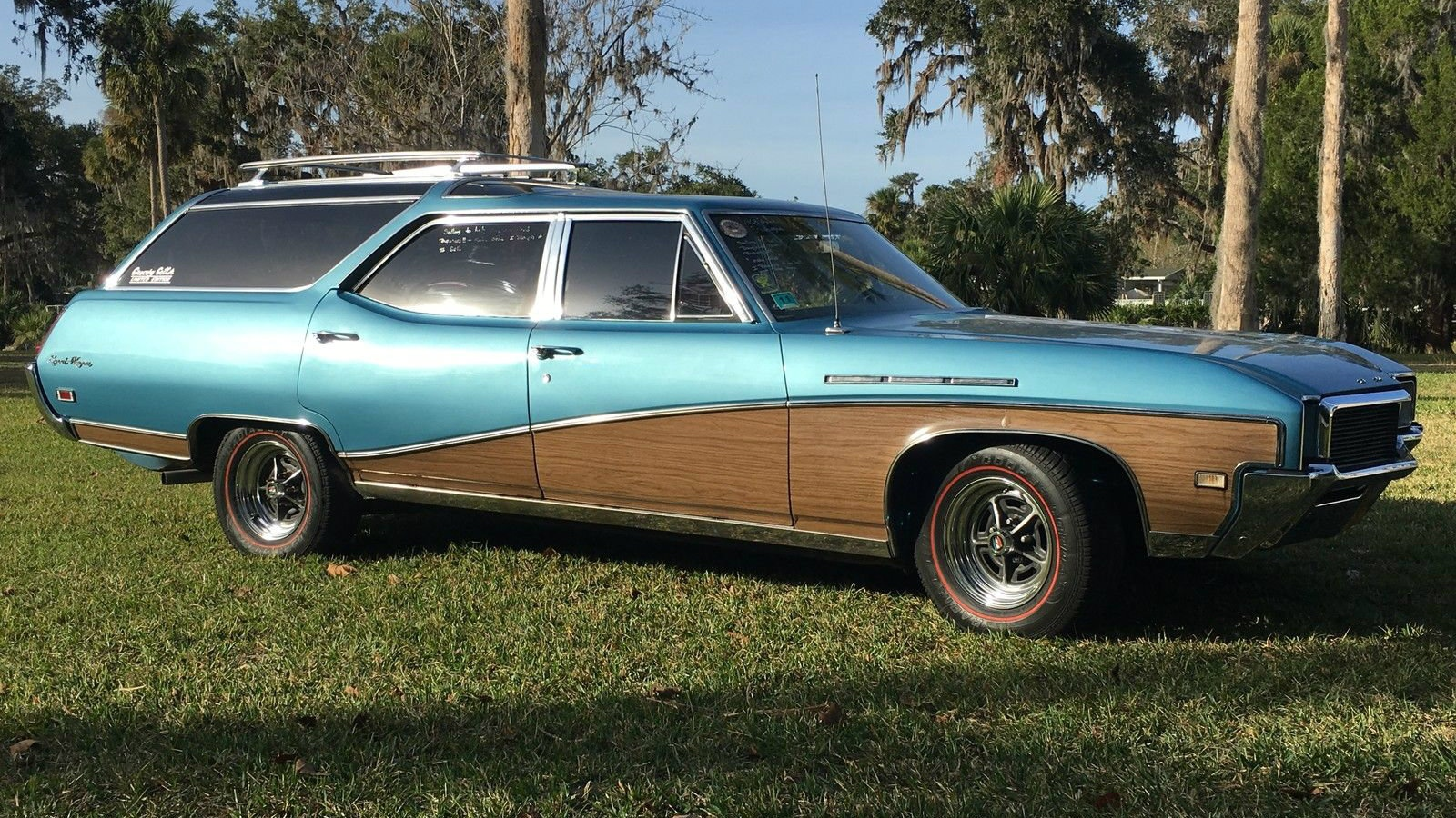 1968 buick sport wagon in sunshine. Black Bedroom Furniture Sets. Home Design Ideas