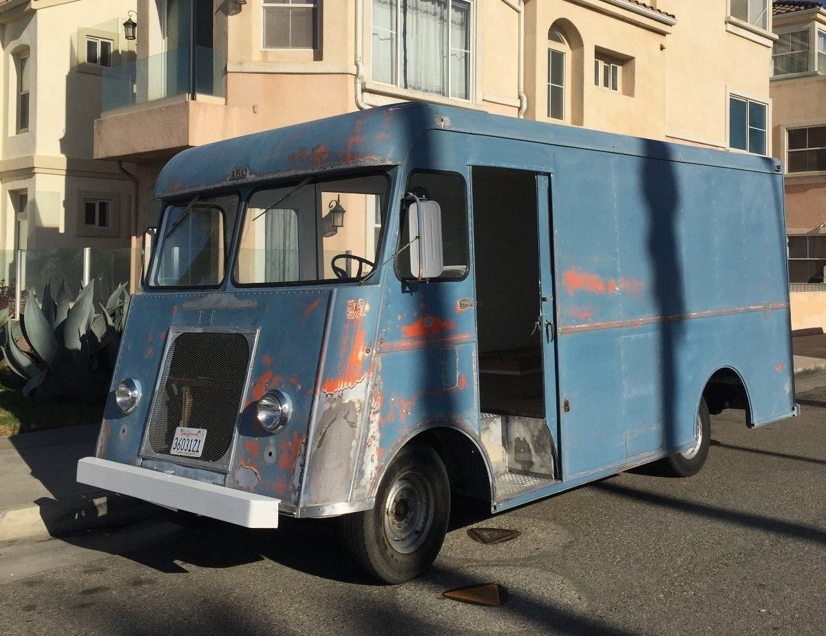 Big Blue Box 1957 Chevrolet Step Van