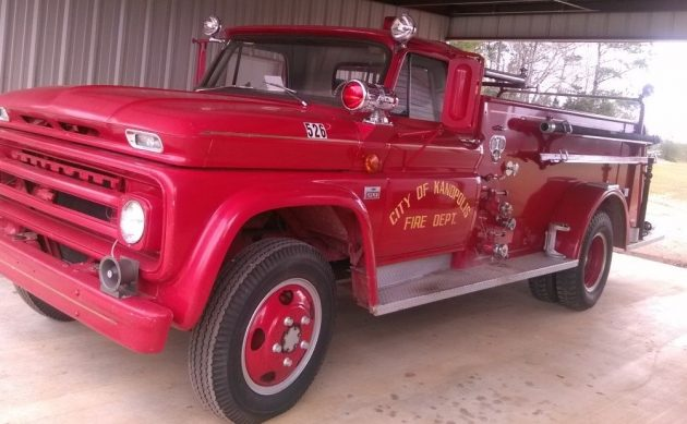 Almost Like New: 1966 Chevrolet C-60 Fire Truck