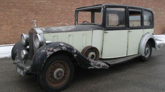 Sad Ol Lady: 1937 Rolls-Royce Phantom III