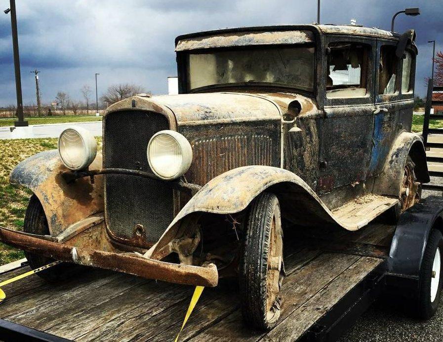 Original 1928 Desoto Six Sedan
