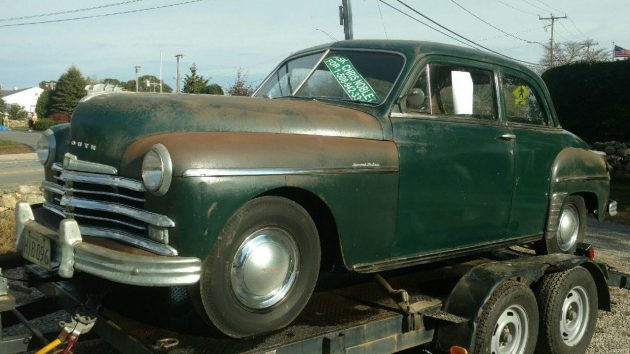 Fifty Year Nap: 1949 Plymouth Special Deluxe Coupe