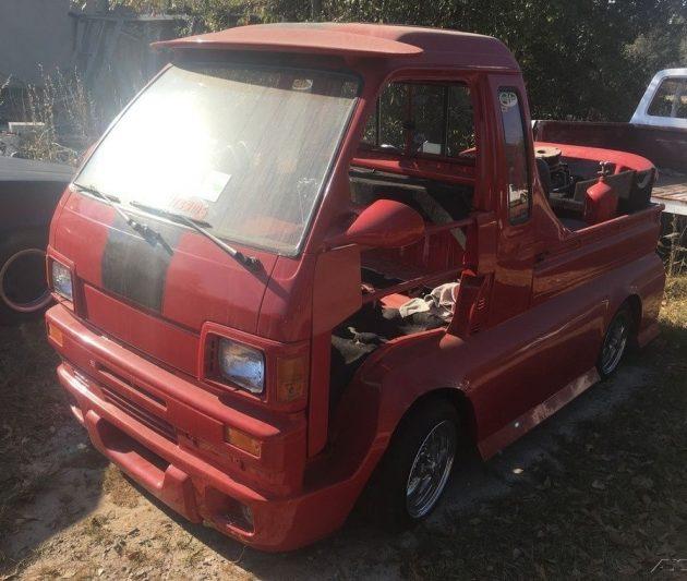 Supercharged? Daihatsu Hijet Jumbo Cab Pickup