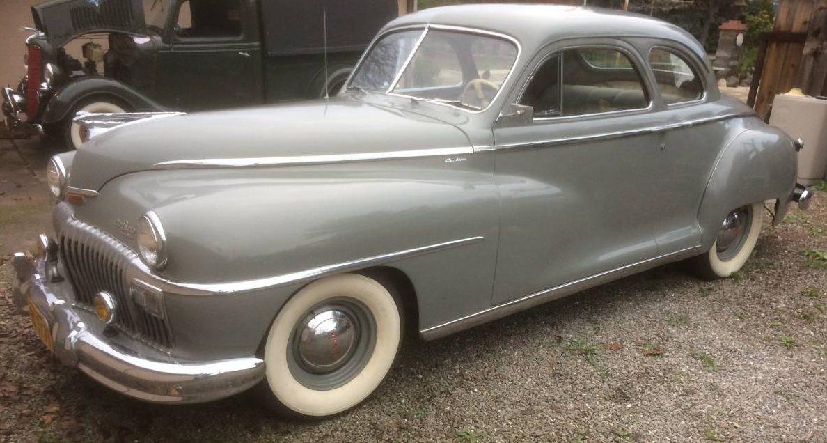 Two Door Survivor 1948 Desoto Custom