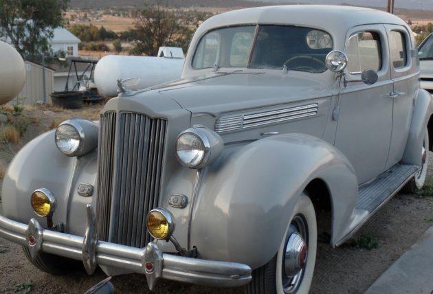 Primed Or Painted? 1939 Packard 120 Club Sedan