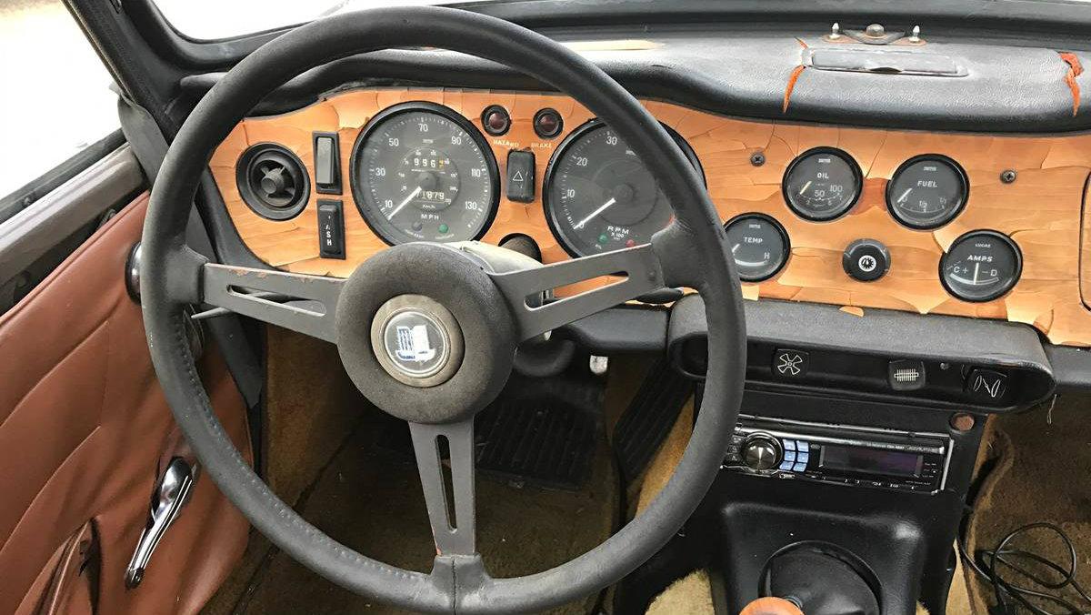Great Price 1971 Triumph Tr6