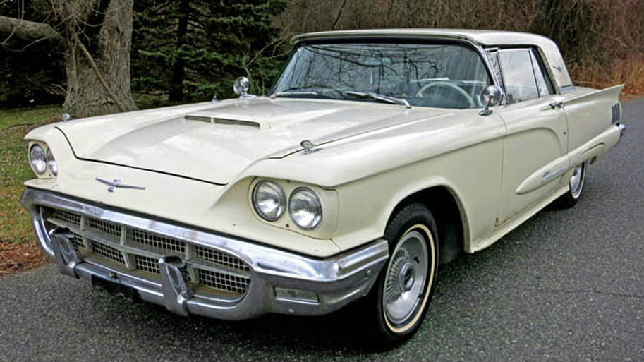 1960 Ford Thunderbird The Worlds Most Wanted Car
