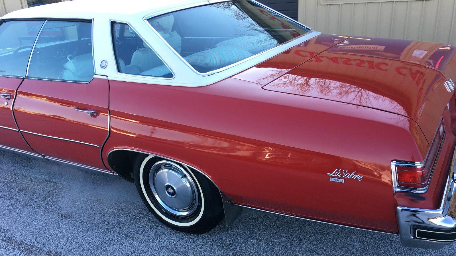 1975 Buick LeSabre Survivor--What\'s It Worth?