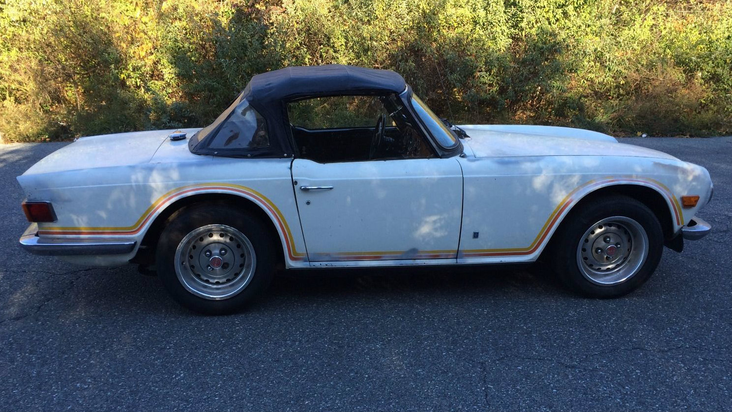 Listing All Cars >> 1 1 1 2 6 A Fleet Of 3 Tr6 Project Cars