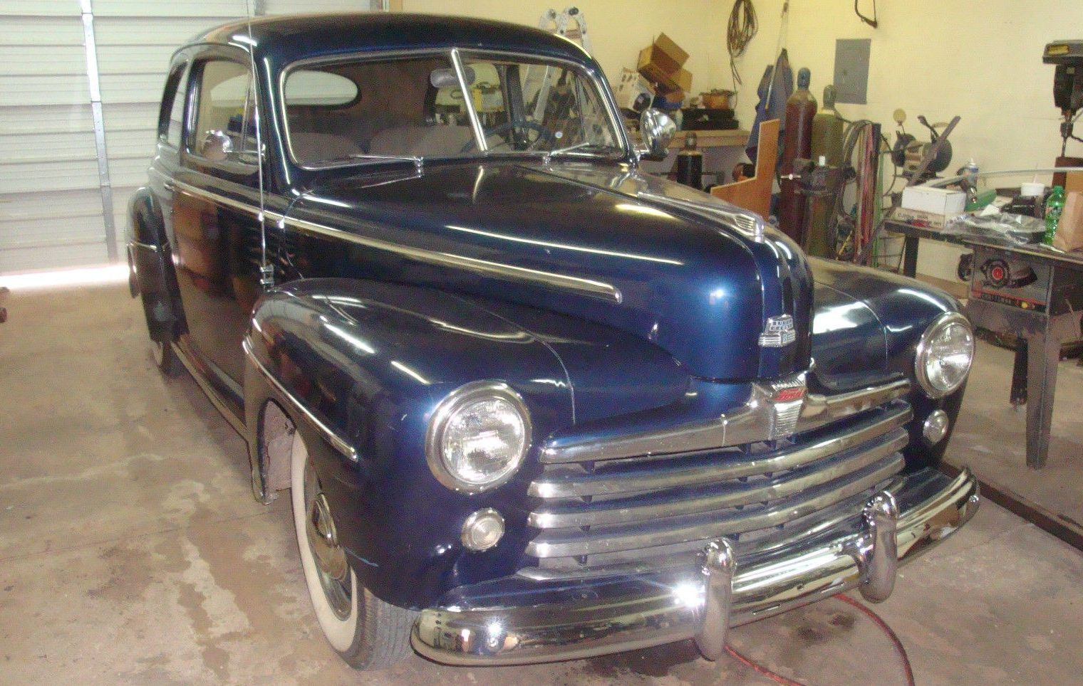 Prewar Style 1948 Ford Super Deluxe