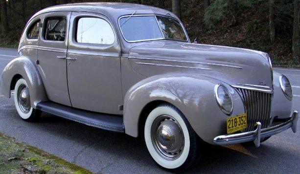 Incredible Survivor: 1939 Ford V8 Deluxe Fordor Sedan