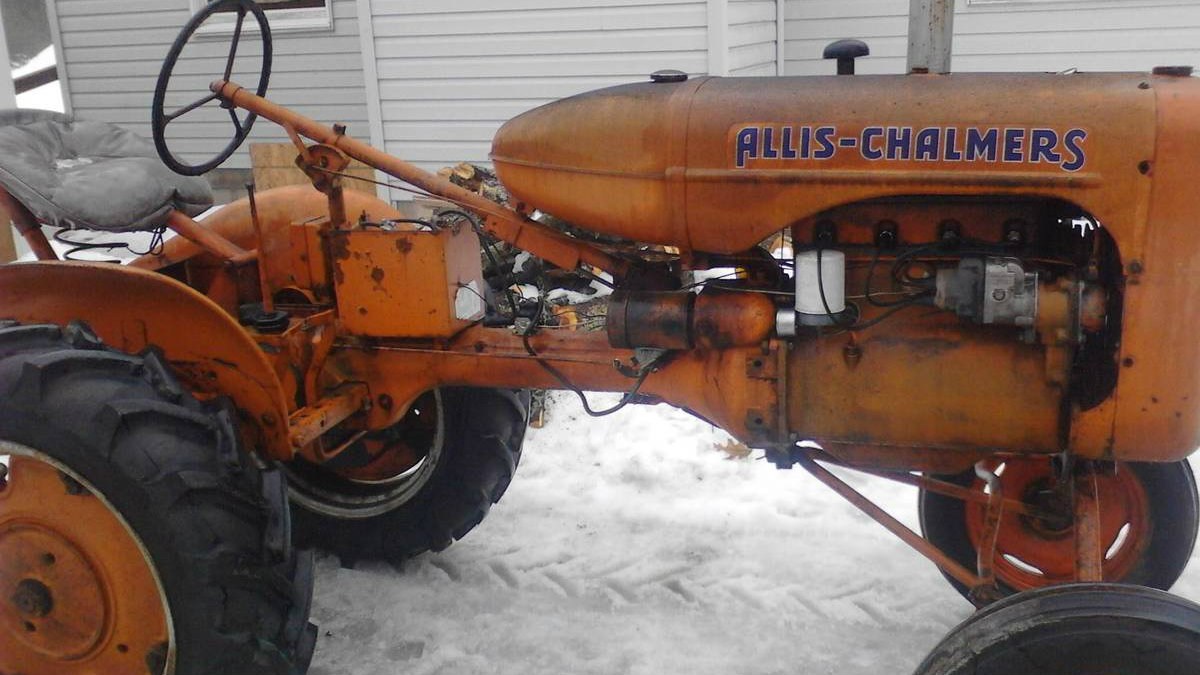 Tractor Time: 1939 Allis Chalmers Model B