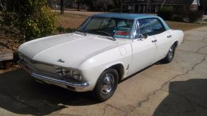 Cool In Its Own Right: 1965 Corvair Sedan