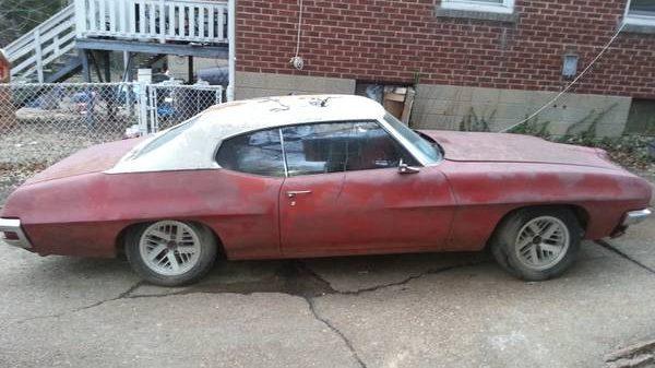 Craigslist St Louis Missouri >> Blank Canvas: 1970 Pontiac LeMans Coupe