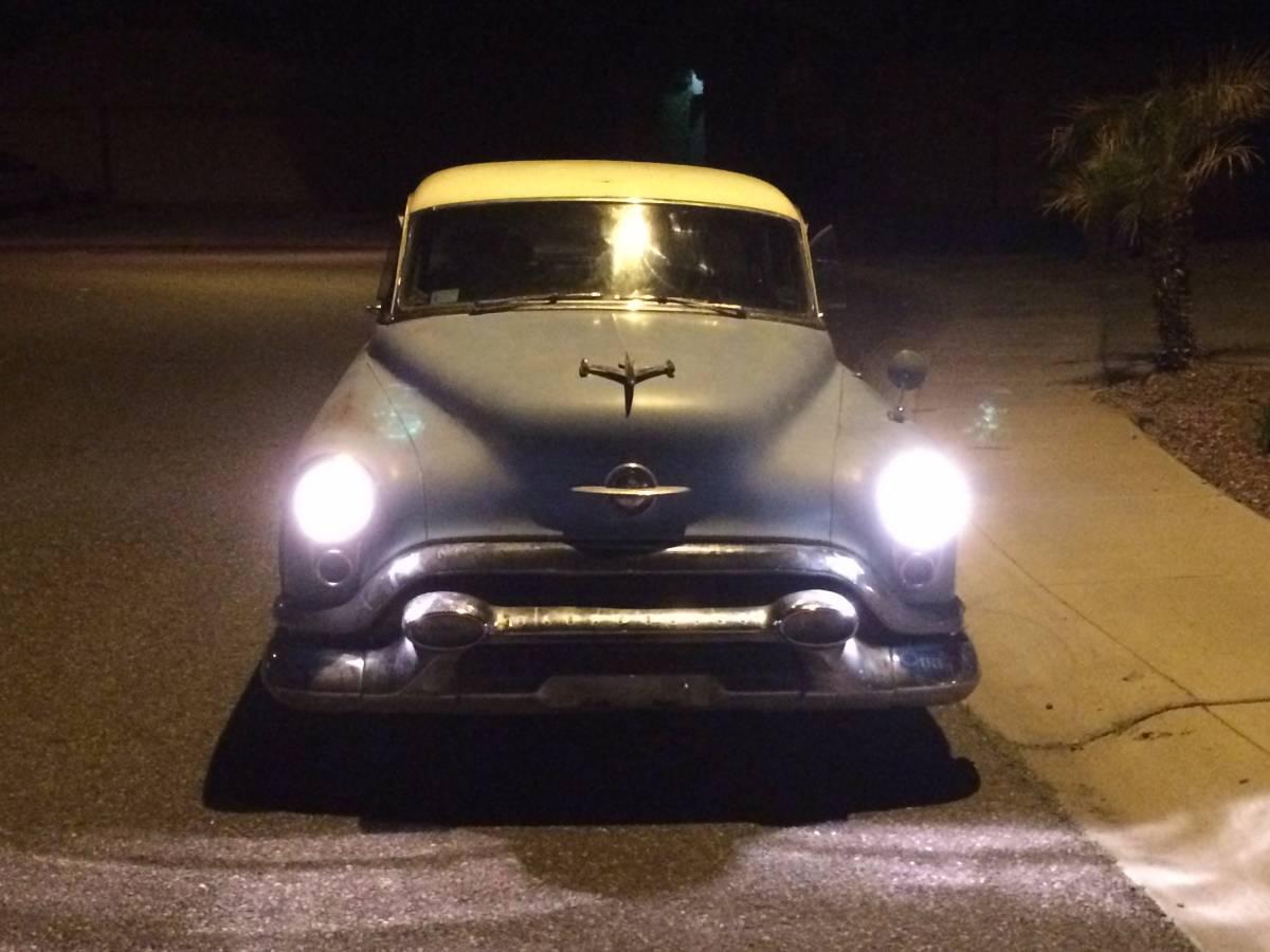 Big Blue Survivor: 1953 Oldsmobile Super 88