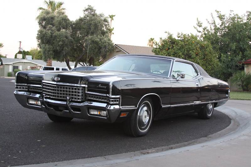 Triple Black: 1972 Mercury Marquis Brougham