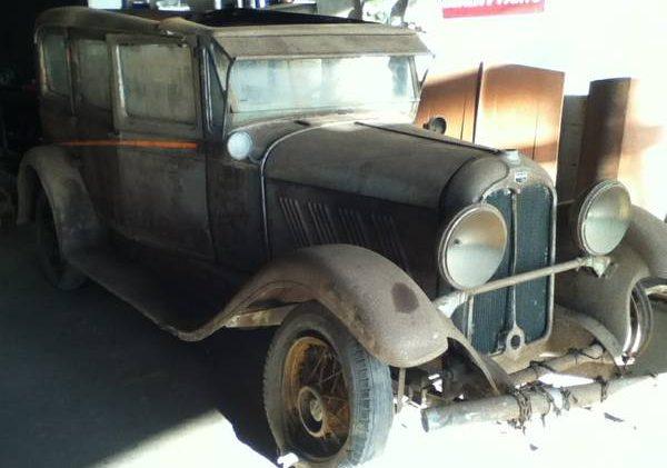 Pre-War Survivor? 1928 Auburn Sedan