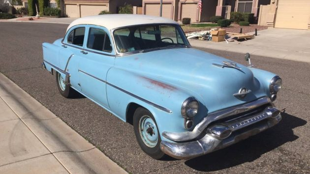 Big Blue Survivor: 1953 Oldsmobile Super 88