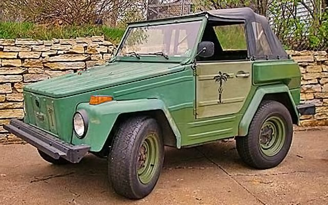 Short Thing: 1974 Volkswagen Thing Shorty