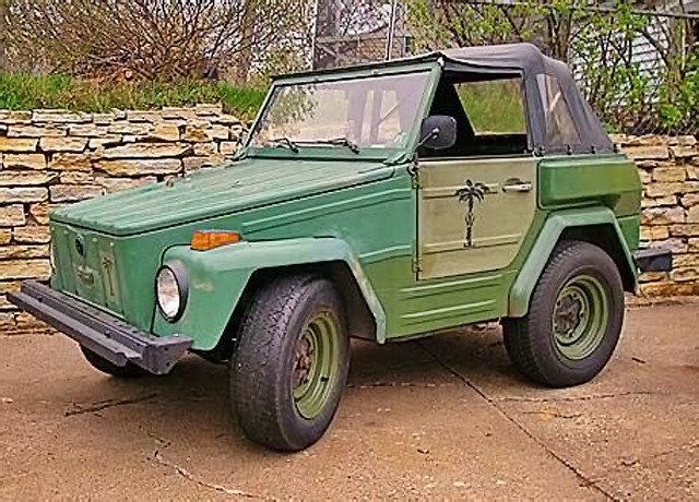 Short Thing 1974 Volkswagen Thing Shorty