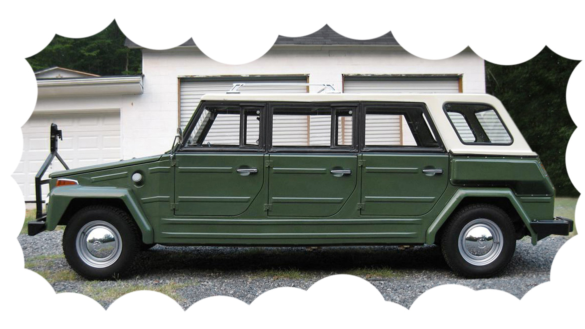 Shortened Cars >> Short Thing: 1974 Volkswagen Thing Shorty