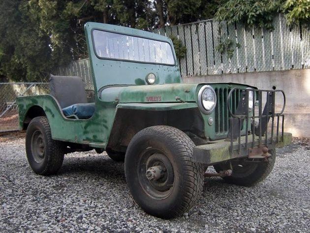 $2,500 CJ: 1951 Willys CJ-3A
