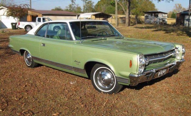 Green Goodness 1968 Amc Ambassador Sst