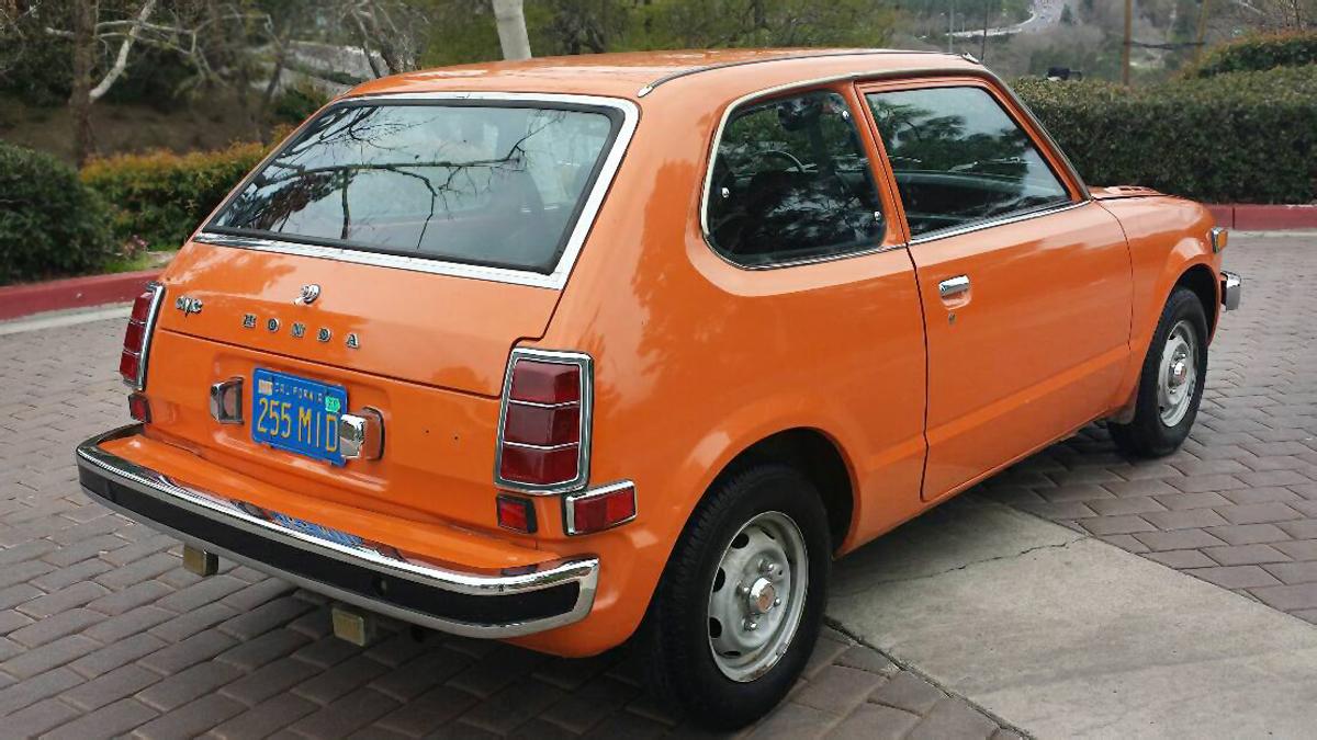 Vitamin C 1974 Honda Civic