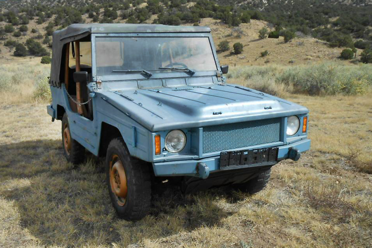 Military Vehicles For Sale Canada >> Two-Fer Sale: 1977 Volkswagen Iltis