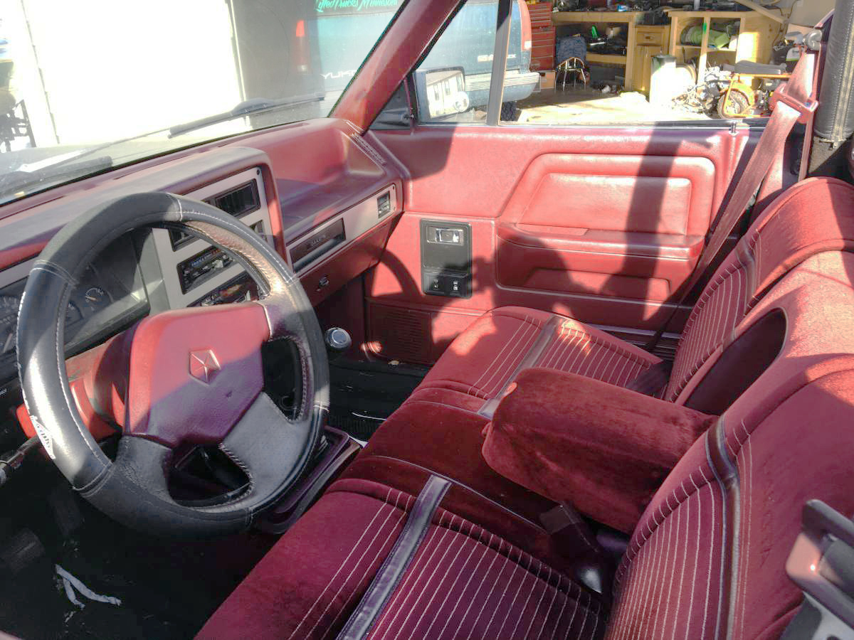 Barn Finds Dodge Dakota Convertible on 1991 Dodge Dakota Interior