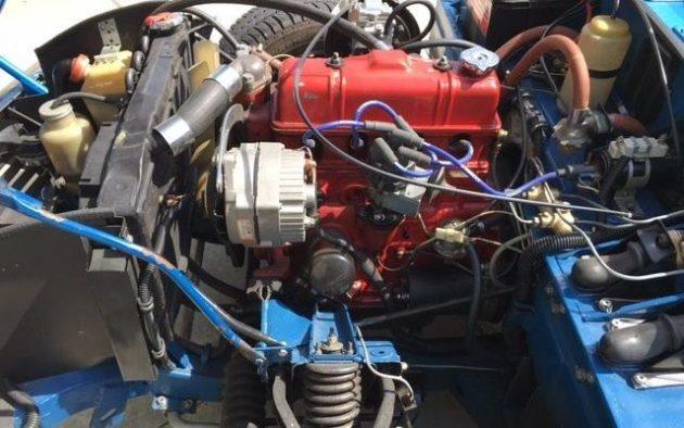 Gear Gamble: 1976 Triumph Spitfire