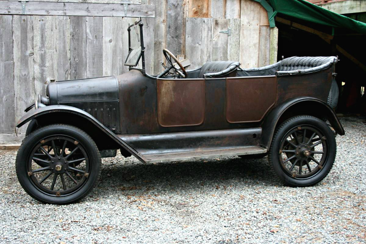 101 Year Old Beauty: 1916 Maxwell Touring Car
