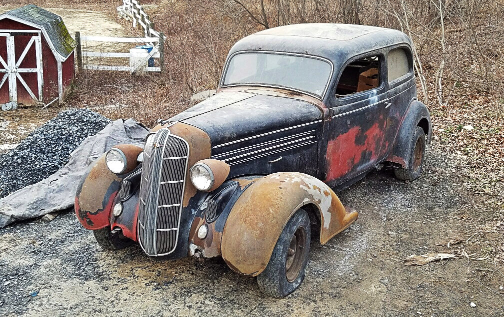 Exclusive 1936 Dodge Coupe Project