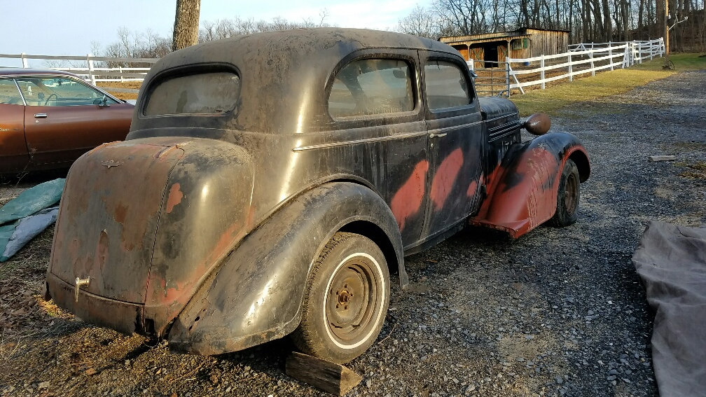 EXCLUSIVE: 1936 Dodge Coupe Project