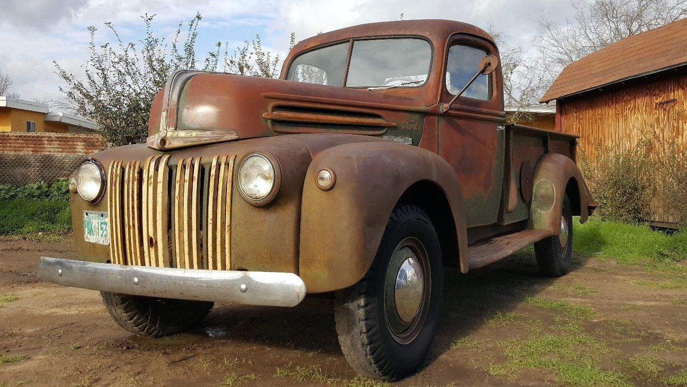 canadian tonner 1947 ford one ton truck. Black Bedroom Furniture Sets. Home Design Ideas