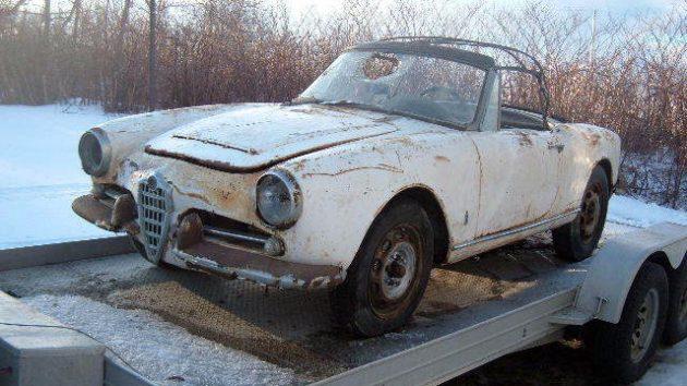 Almost to Bangor: 1962 Alfa Romeo 1600 Spider