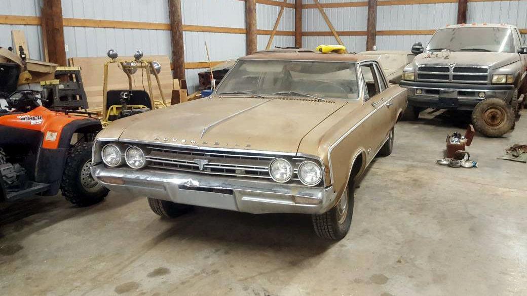 Plainly Muscle: 1964 Oldsmobile Cutlass