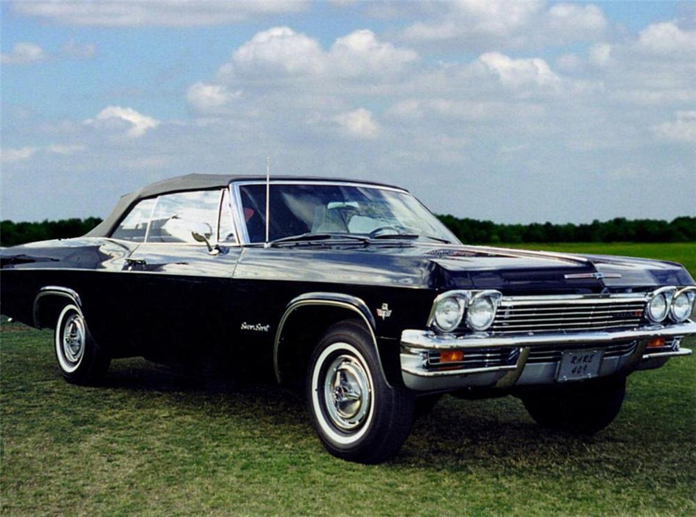 4Speed Barn Find 1965 Chevrolet Impala