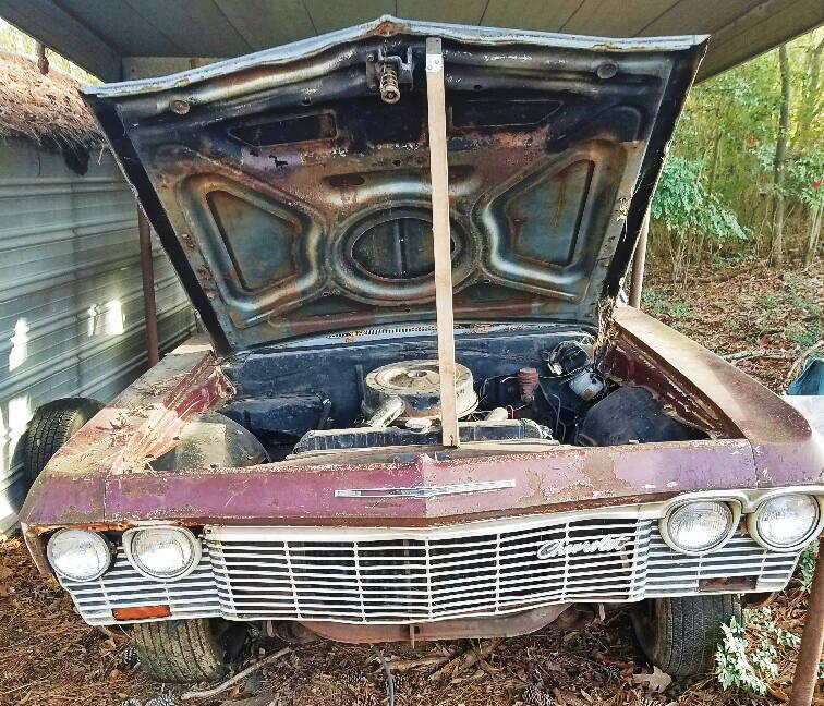Impala 2017 Interior >> EXCLUSIVE: 1965 Chevrolet Impala Convertible