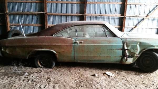 4 Speed Barn Find 1965 Chevrolet Impala