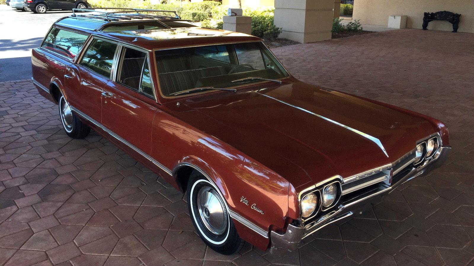 12k In Miles >> Best Original 1966 Olds Vista Cruiser Left?