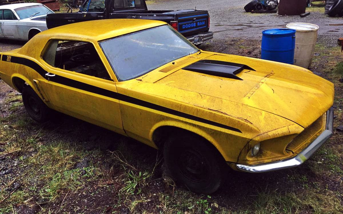 1969 Mustang For 800