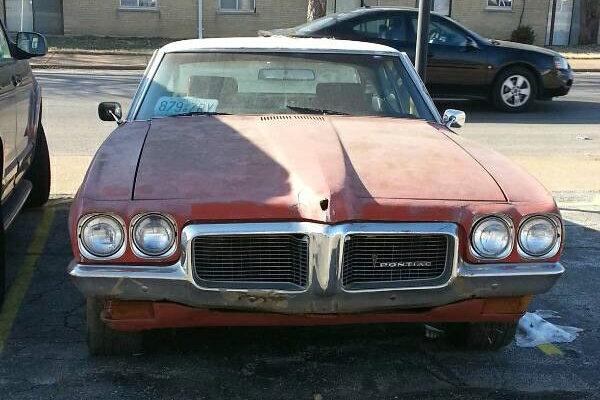 Blank Canvas: 1970 Pontiac LeMans Coupe