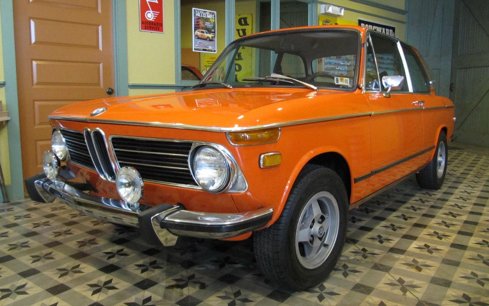 Inka Orange Survivor 1973 Bmw 2002 Tii