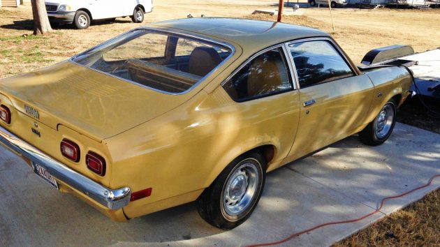 Not What It Seems 1973 Chevrolet Vega Barn Find