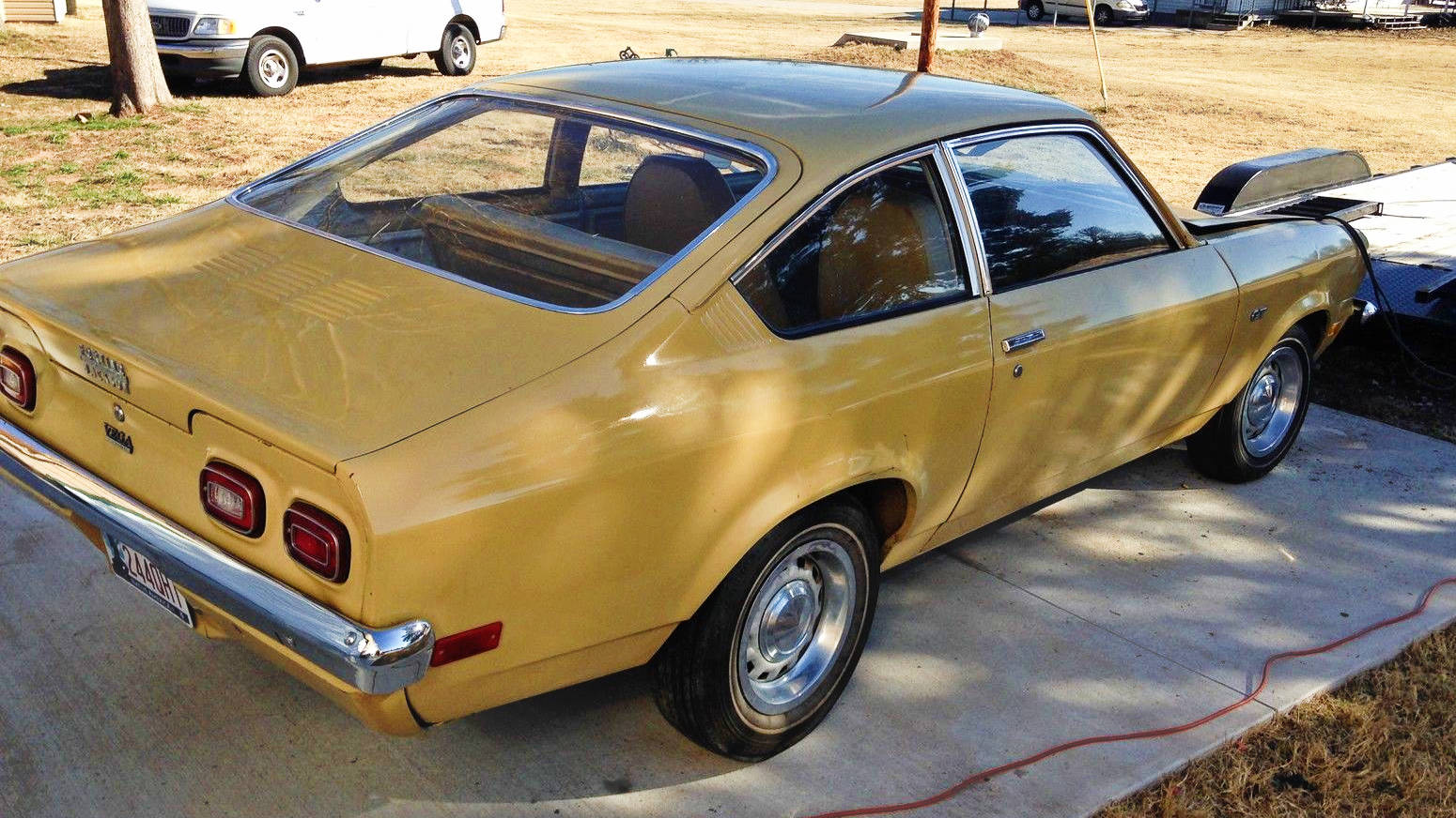 Image - 1973 Vega GT - Classic Car March 2014.jpg | Chevy Vega ...